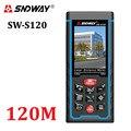 80M120M medidor de distancia láser 400ft de mano telémetro cinta dispositivo de medición de telémetro W-TFT Cámara Lcd batería recargable