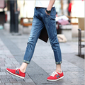 New Arrival slim men summer pants fashion famous design jeans as a gift for men Free Shipping MF7968521