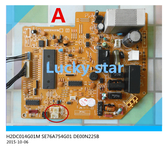 95% new for Air conditioning computer board circuit board  DE00N225B SE76A754G01 H2DC014G01M good working 95% new for haier refrigerator computer board circuit board bcd 198k 0064000619 driver board good working