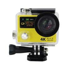 H3R Действий камеры Ultra HD 4 К WiFi 1080 P Видеокамера Спорт DV С 2.4 Г Пульт Дистанционного Управления 2 «двойной Экран Мини Камеры Видеокамеры
