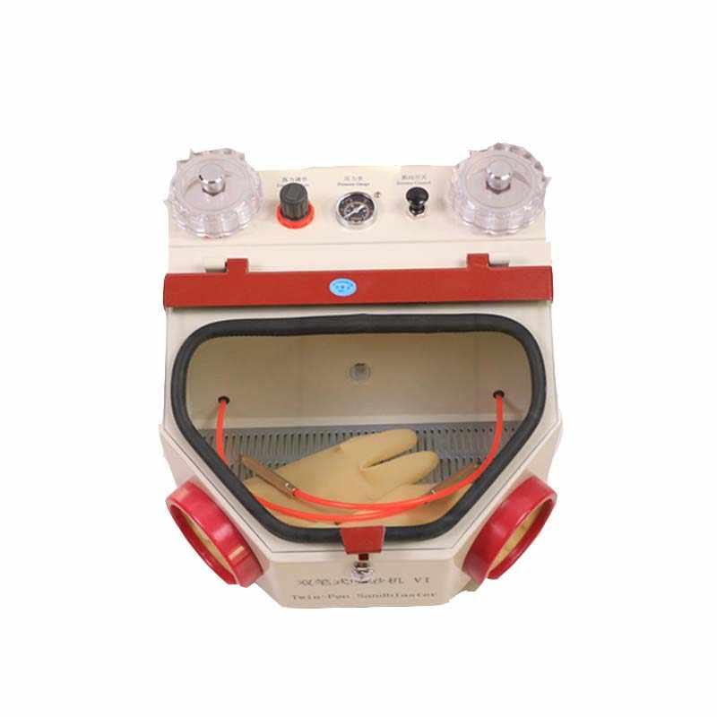 الأسنان التوأم القلم التفجير وحدة مختبر الأسنان التوأم القلم المعادن الرمل آلة كهربائية آلة تفجير الرمل الرملي أقلام