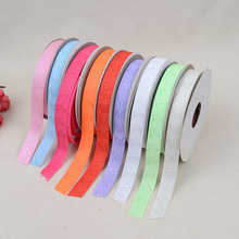 Wheel Pressure Mode 1.5cm *20 Yards Belt Headwear Clothing Accessories Ribbon Cake Box Green Printing Ribbon Webbing Accessories