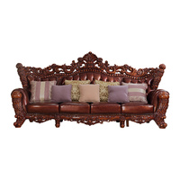 Procare современный дизайн сверху кожаный диван Гостиная