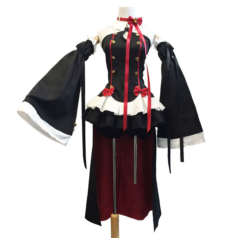 COULHUNT 2019 Anime Krul Tepes Cosplay Fashion Halloween Owari no Seraph Seraph of The End Uniform Third Ancestor Vampire