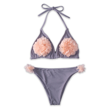 Sexy Halter Bikinis Women Bathing Suit