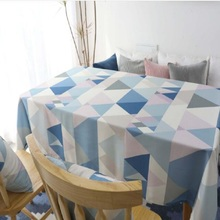 Home textile waterproof Nordic simple table cloth living room dining multi-purpose cover towel clot