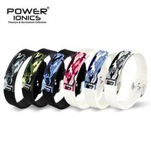 Power Ionics Titanium Ion Fir 3D Camo Armband Balance Polsband Energie PT048