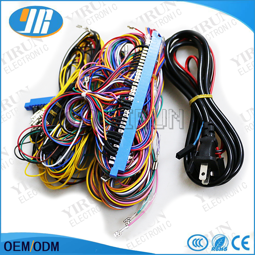 36Pin+10Pin Casino Wiring Harness For casino game pcb / For red board /  Slot arcade game machine-in Coin Operated Games from Sports & Entertainment  on ...