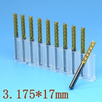Strawberry PCB Milling Cutter Corn Teeth Metal Tungsten Carbide CNC Engraving CNC Router Woodworking Cutting Tools