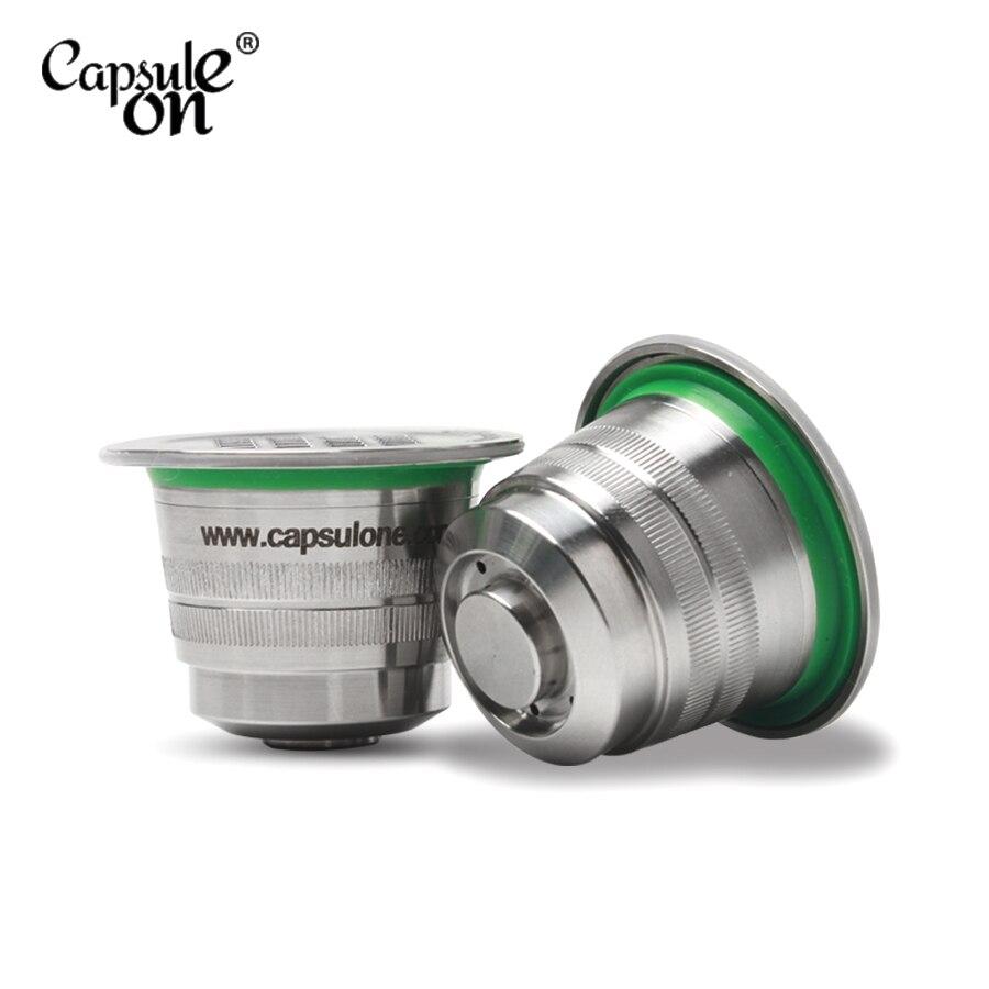 capsulone NEREZOVÁ KOVOVÁ Kovová kapsle kompatibilní s kávovarem - Kuchyně, jídelna a bar