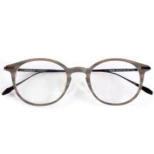 最高品質の木材ストライプ titanium 処方メガネや装飾