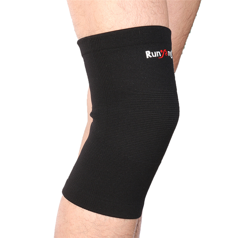 Classic Knitting Keep Warm Sports Knee Sleeve Brace Guard Pad Protector Running Riding H ...