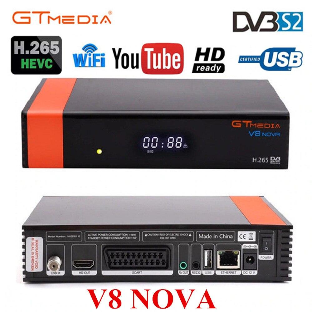 Image 5 - V8 Nova декодер с 2 летняя Клайн для Европы Freesat GTMedia обновления V8 Максимальное разрешение Full HD DVB S2 спутниковый ТВ приемник встроенный Wi Fi-in Приемник спутникового ТВ from Бытовая электроника