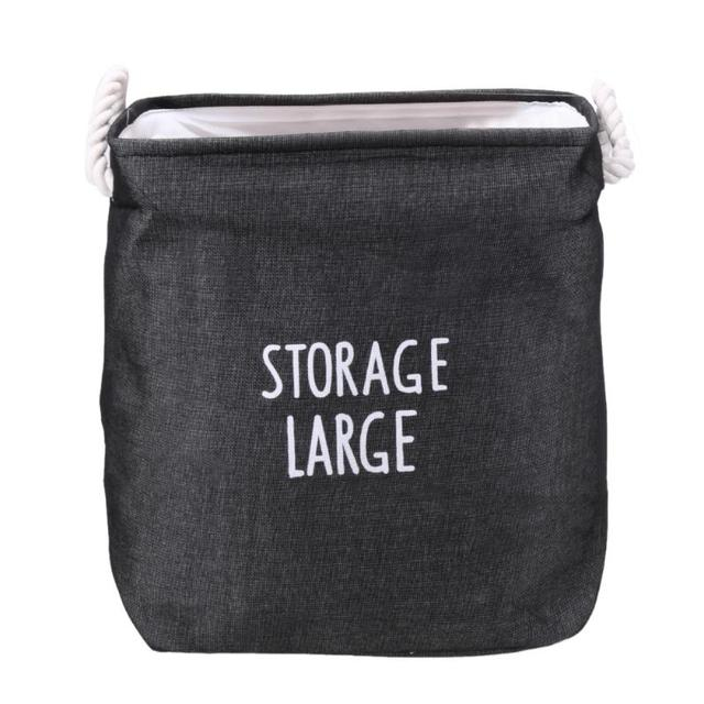Large Baby Toys Storage Bags Canvas Laundry Hanging Drawstring Bag Household Pouch Bag Home Storage Organization For Xmas Gift