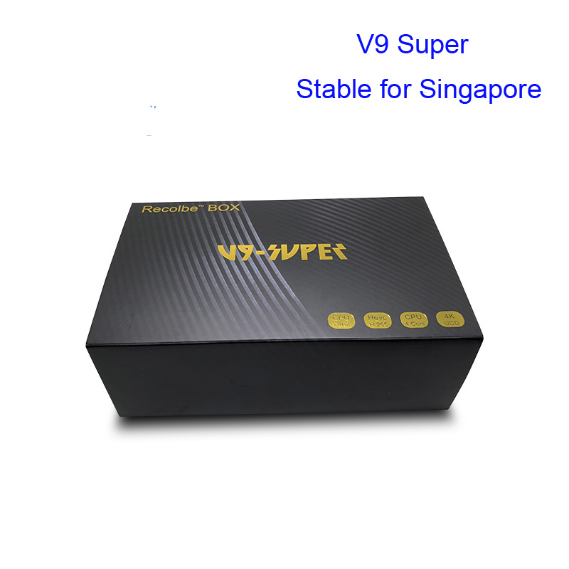2018 Newest V9 super stable Linux box for Singapore starhub channels free wifi dongle vs Freesat V9 Pro