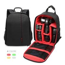Voground Прямая доставка обновления цифровых зеркальных Камера рюкзак видео сумка Водонепроницаемый противоударный для Canon Nikon фотограф