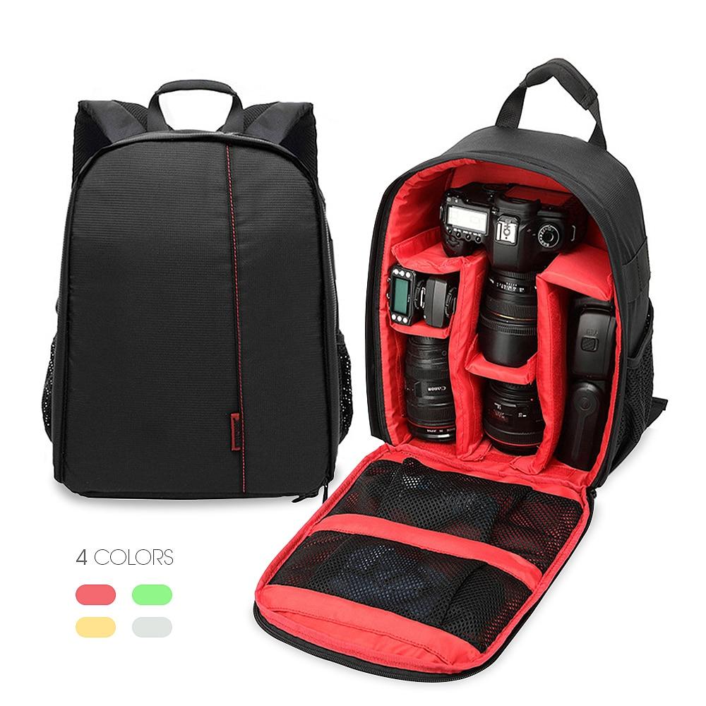 VOGROUND Drop Shipping Upgrade Digital DSLR Camera Backpack Video Bag Case Waterproof Shockproof for Canon Nikon Photographer