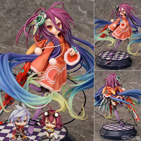 NEW 19cm Anime Life No Game No Life Shiro Game of Life Painted Third generation Game of Life 1/7 scale PVC action figure model