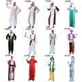 Free shipping halloween party dress up costume adult classic arab costume arab people arab party arabian costume arabian robes