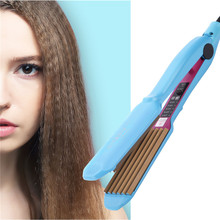 Tourmaline Ceramic Heating wave hair straighteners Corn Perm