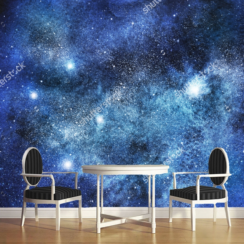 Cosmic wallpaper,stars, nebula and galaxy,3D modern landscape for the living room dining room ceiling background wall wallpaper blue earth cosmic sky zenith living room ceiling murals 3d wallpaper the living room bedroom study paper 3d wallpaper