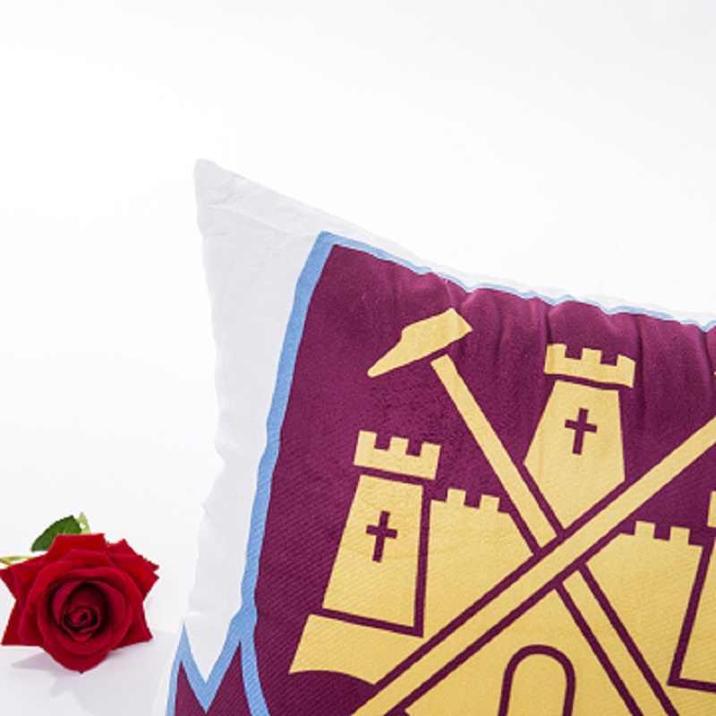 עיצוב הבית כרית פשוט מודרני כדורגל צוות צ 'לסי לוגו טוטנהאם סופר רך דפוס דיגיטלי ספה כרית כרית כיסוי
