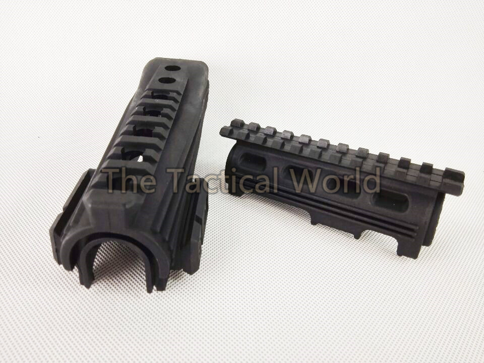 Tactical AK 47 Hunting Rifle Handguard Upper And Lower With 20mm Picatinny Rails R.I.S System AK Hunting Scope Mount Accessories