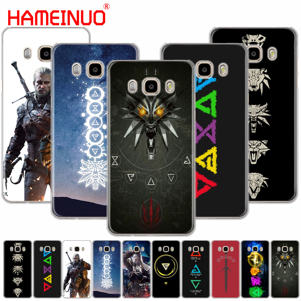 HAMEINUO The Witcher 3 Wild Hunt signs cover phone case for Samsung Galaxy J1 J2 J3 J5 J7 MINI ACE 2016 2015 prime