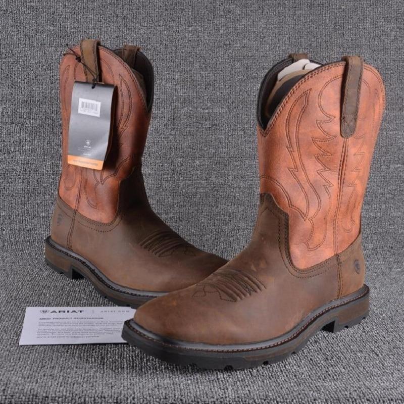 Online Get Cheap Ariat Mens Work Boots -Aliexpress.com   Alibaba Group