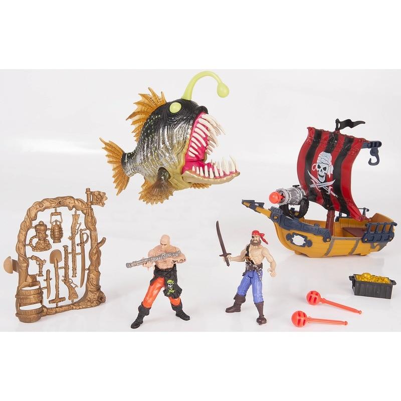 1:18 Chap Mei Pirates bateau jouet Lanter poisson les caraïbes Pirate Figure bateau figurines cadeau jouet enfants jouets pour enfants