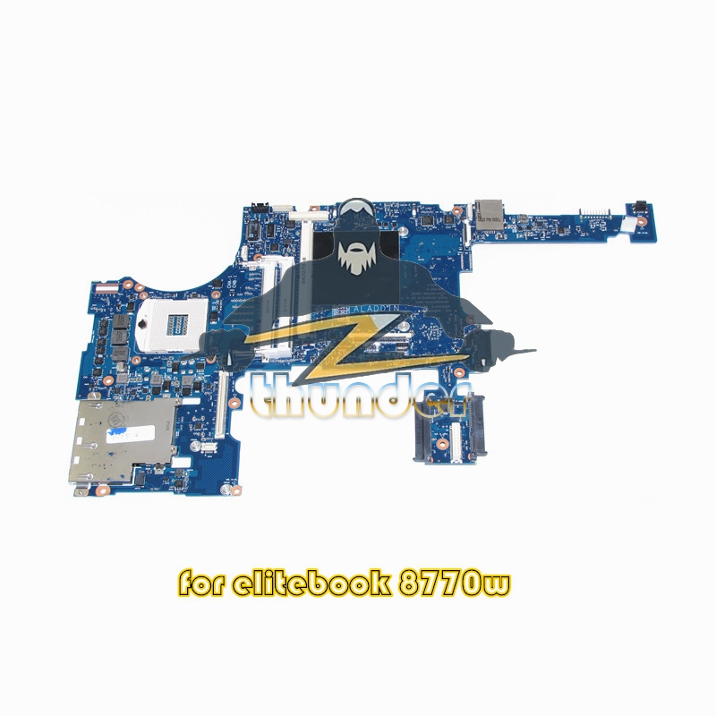688746-001 688746-601 for HP Elitebook 8770W laptop motherboard DDR3 SLJ8A with graphics slot lacywear gk 15 snn