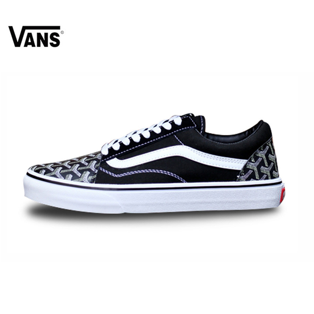 fabf139ff23 Original New Arrival Vans Women s Classic Vans FOG Old Skool Low-top  Skateboarding Shoes Outdoor Sneakers Canvas VNOB65G1R1B