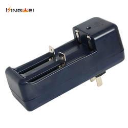KingWei 1 шт. Беспроводной Universal Travel Зарядное устройство двойной 3,7 В литиевых Батарея для 18650 14500 16340 литий-ионная Батарея