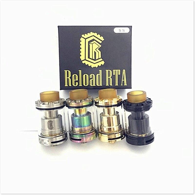 bilder für Hohe qualität Reload RTA Klon 4 farben 24mm Holt Tank E zigarette Zerstäuber Reload rda für 510 box mod