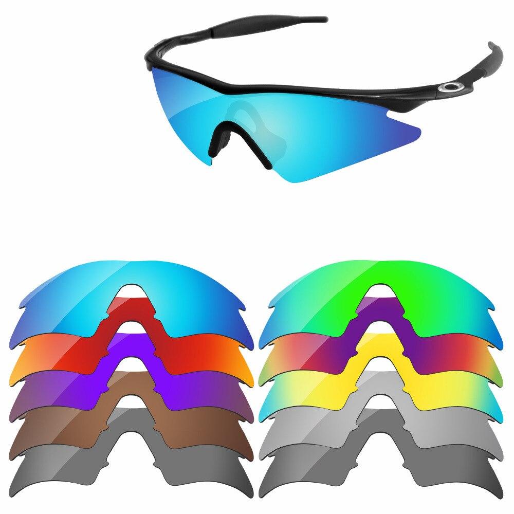 2376ba60d2748 PapaViva POLARIZADA Lentes de Reposição para M Varredura Quadro Óculos De  Sol 100% Proteção UVA
