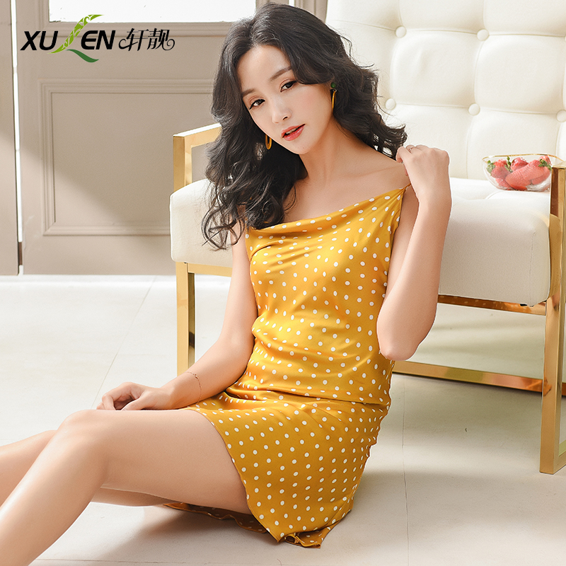 Women sexy summer dress silk nightdress plus size night skirt V neck   nightgown   and   sleepshirt   satin bride bridesmaid sleepwear