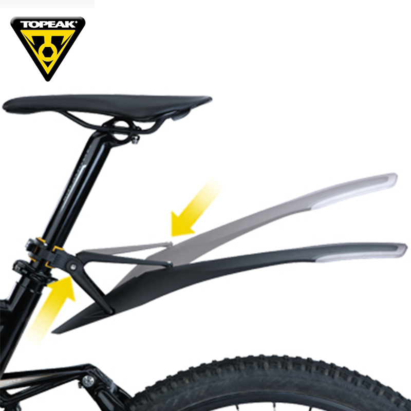 Image 3 - TOPEAK 26 27.5 29 inch MTB mudguard bicycle front rear wing for bicycle mud guard mountain bike fender-in fenders from Sports & Entertainment