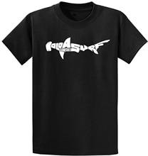 Joes USA Koloa Surfer Co. Hammerhead Shark T-Shirts in Regular, Big and Tall Sizes  Free shipping newest Fashion Classic