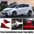 For Toyota Verso / E'Z / Sportsvan / Prius / Aygo / Prius c /  Aqua / Solar Energy Shark Fin Laser Fog Lights / Warning Lamp