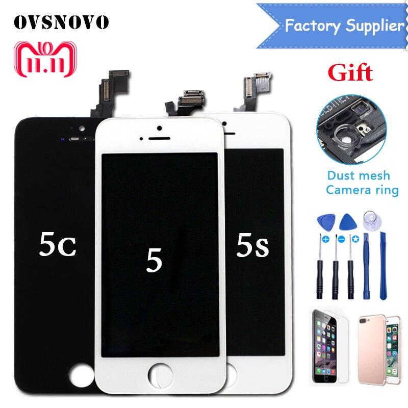 Reemplazo de la Pantalla para iPhone 5S digitalizador de Pantalla táctil LCD Asamblea Ecran Panel para iPhone 6 5 5C LCD Alibaba exprés
