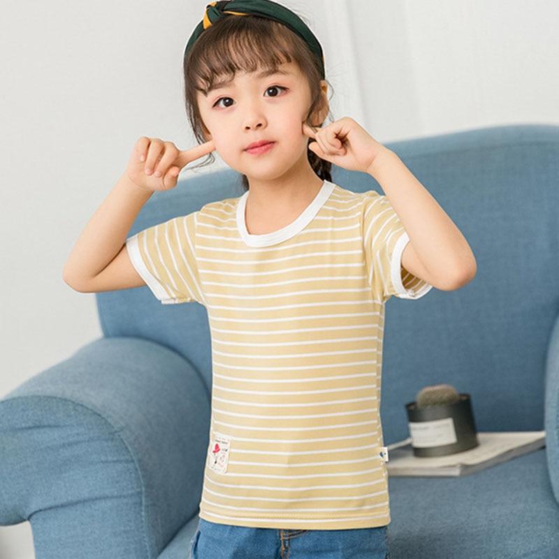 New T Shirt Summer Top Tshirt Kids Clothes Boys Tops 2018 Kid T Shirts Baby Boy Summer Clothes T Shirts Baby Girl Summer Clothes