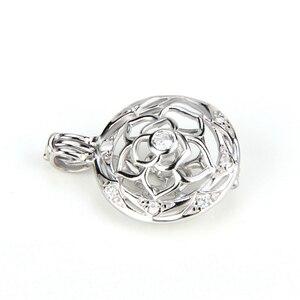 Image 4 - CLUCI colgante de plata de primera ley con forma de bola para mujer, joya para collar, plata esterlina 925, relicario de perlas, 3 uds., SC059SB