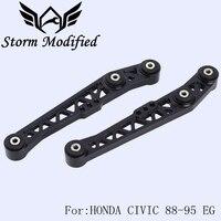 SuTong High Strength Rear Lower Control Arm Kit LCA FOR HONDA CIVIC 88 95 EG ACURA INTEGRA 90 01 BLACK