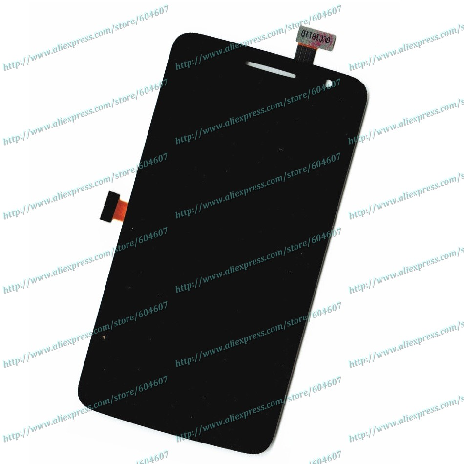 ФОТО New Black OEM Touch screen Digitizer+LCD Display Assembly For Alcatel One Touch Scribe HD OT-8008A OT-8008D Phone