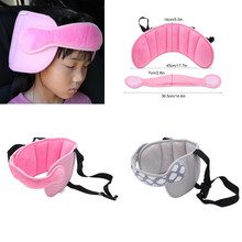 Infants Baby Head Support Adjustable Sleep Positioner Safety Car Seat Straps Covers Stroller