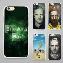 Breaking Bad Chemistry Walter Hard White Cell Phone Case Cover for Apple iPhone 4 4s 5 5C SE 5s 6 6s 7 Plus