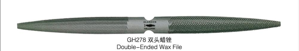 FREE SHIPPING Hot Sale GH278 Double-ended Wax Files Goldsmith Tools,jewelry Tools And Machine,jewelry Files