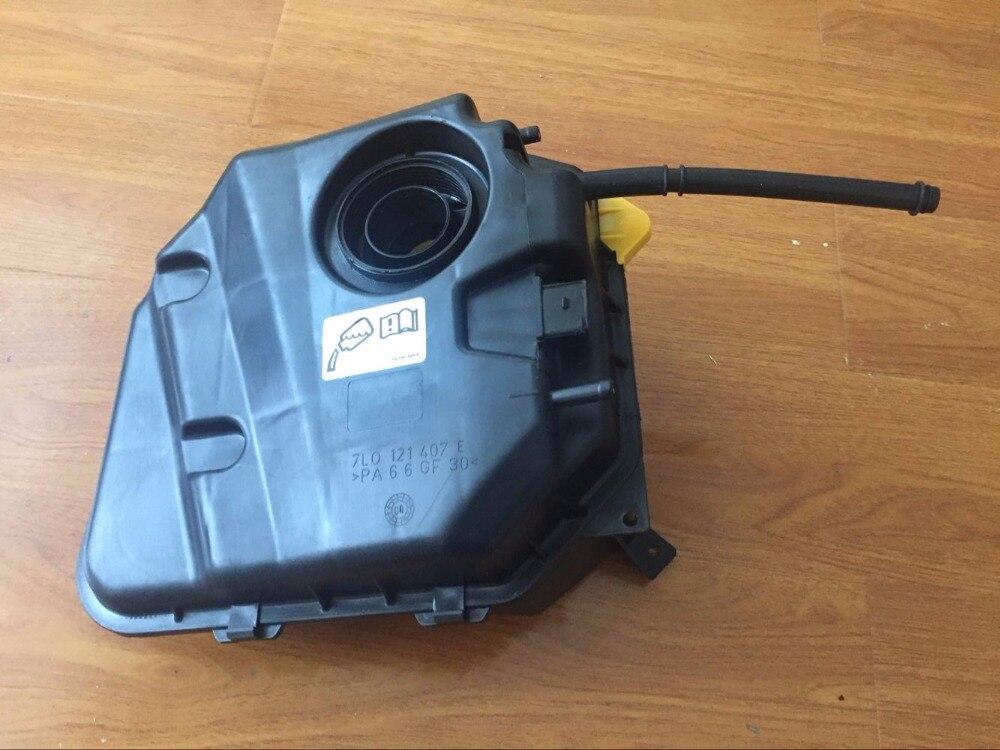 For Audi Q7 4L VW TouaregvEngine Coolant Recovery Expansion Tank new thermostat coolant hose use oe no 028121144m for vw audi