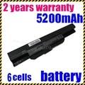 JIGU k53u laptop battery for Asus A32 k53 A42-K53 A31-K53 A41-K53 A43 A53 K43 K53 K53S X43 X44 X53 X54 X84 X53SV X53U X53B X54H