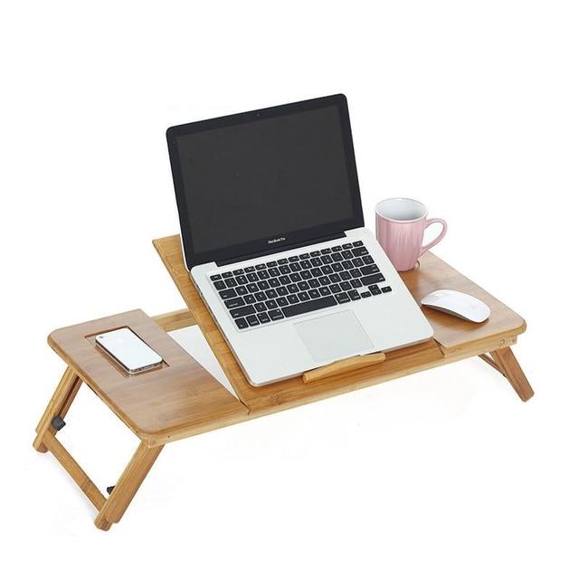 Tafel Support Ordinateur Portable Office Furniture Pliante Bambu Laptop Stand Mesa Tablo Bedside Study Table Computer Desk